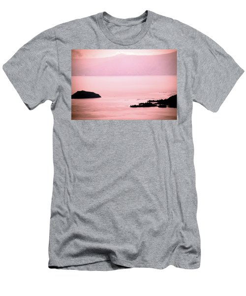 Still The Day Begins Men's T-Shirt (Slim Fit) by Jez C Self