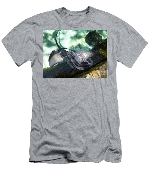 Men's T-Shirt (Athletic Fit) featuring the photograph Stingray Wave by Francesca Mackenney