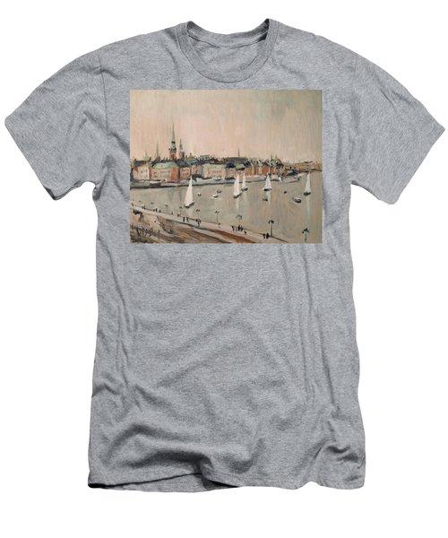 Stockholm Regatta Men's T-Shirt (Slim Fit) by Nop Briex