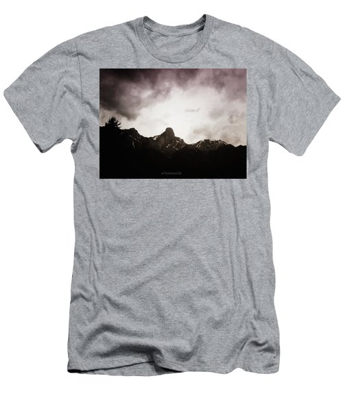 Men's T-Shirt (Slim Fit) featuring the photograph Stockhorn by Mimulux patricia no No