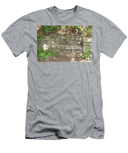 Stone Bench Men's T-Shirt (Athletic Fit)