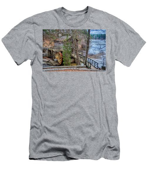 Stone Mountain Park In Atlanta Georgia Men's T-Shirt (Athletic Fit)