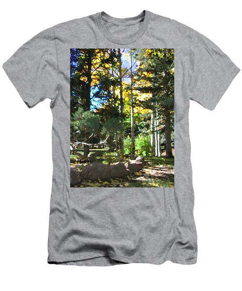 Stone Park Trails Men's T-Shirt (Athletic Fit)