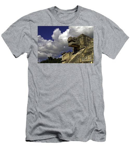 Stone Sky And Clouds Men's T-Shirt (Athletic Fit)