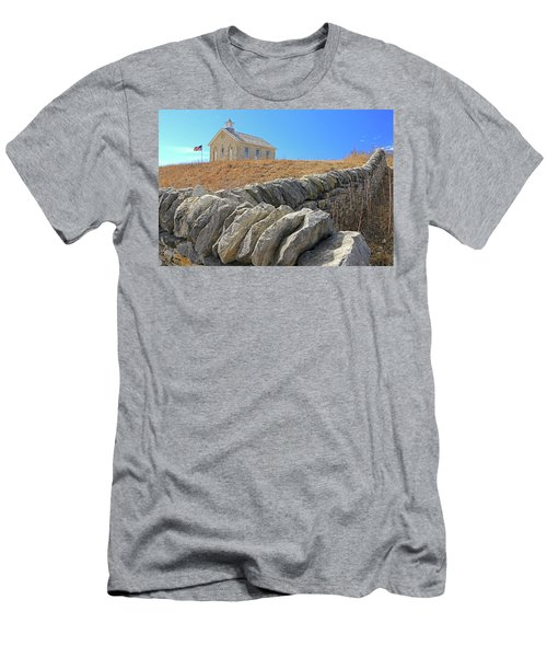 Stone Wall Education Men's T-Shirt (Athletic Fit)