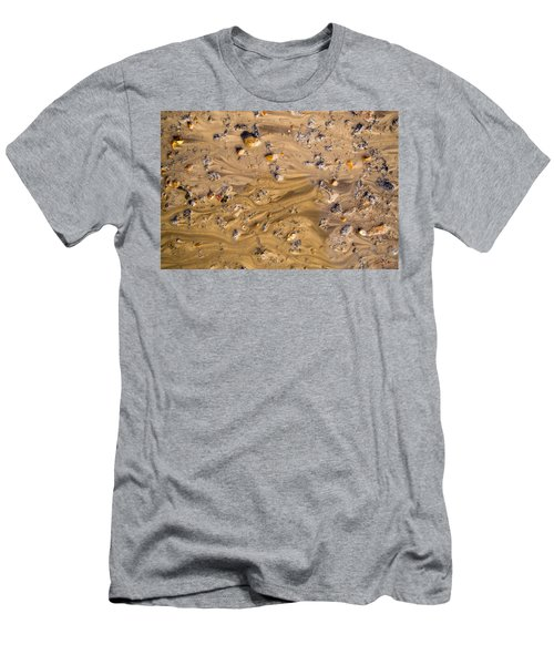 Stones In A Mud Water Wash Men's T-Shirt (Athletic Fit)