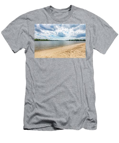 Sand, Sky And Water Men's T-Shirt (Athletic Fit)