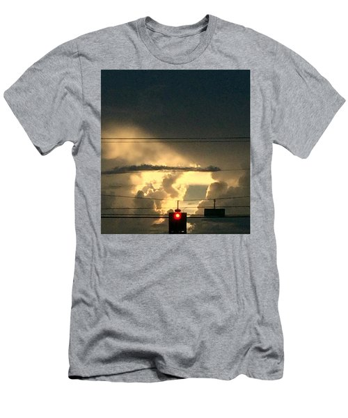 Stoplight In The Sky Men's T-Shirt (Athletic Fit)