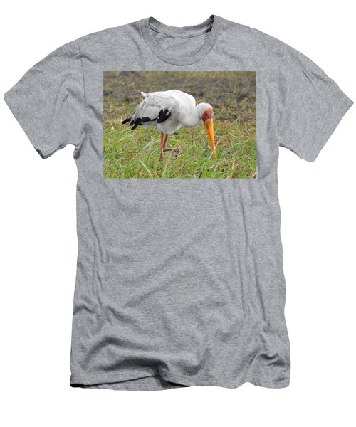 Men's T-Shirt (Slim Fit) featuring the photograph Stork by Betty-Anne McDonald