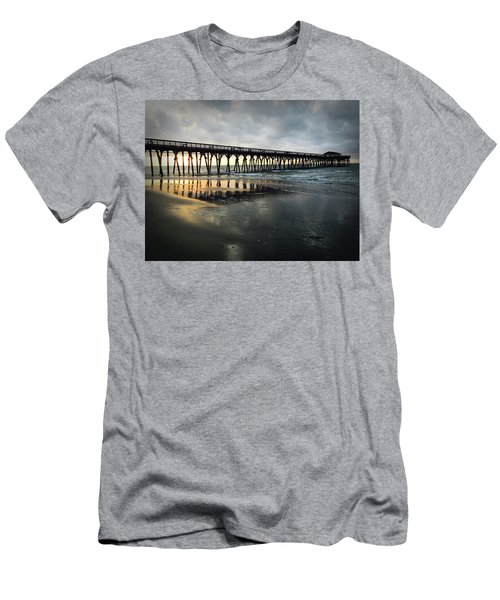 Storm At Sunrise In Color Men's T-Shirt (Athletic Fit)