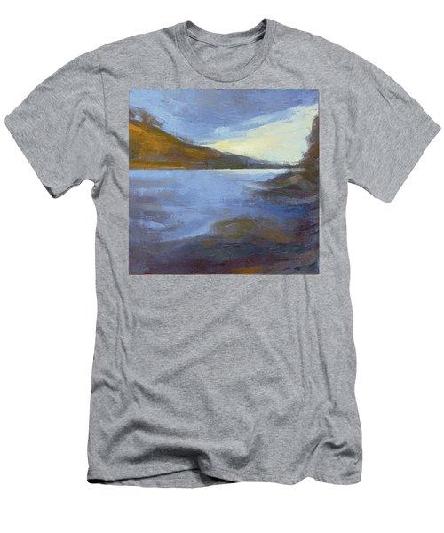 Storm Clouds Break Over The River Gorge Men's T-Shirt (Athletic Fit)