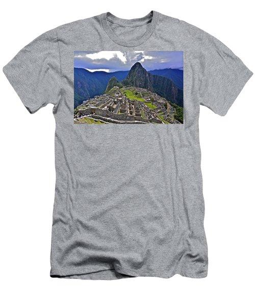 Storm Inbound To Machu Picchu Men's T-Shirt (Athletic Fit)