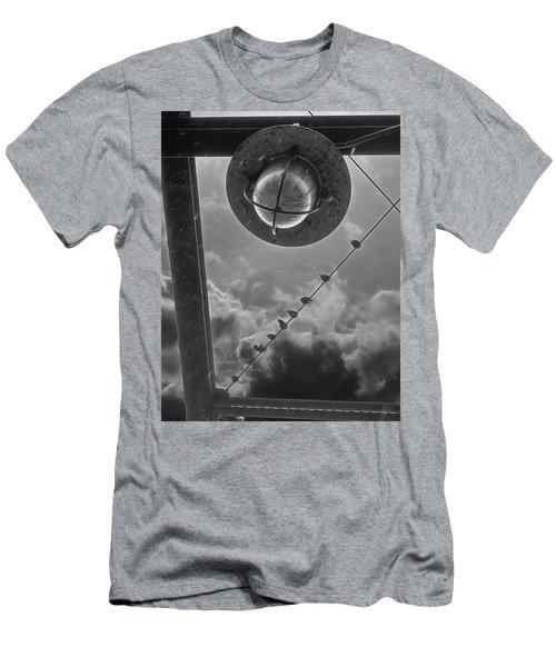 Storm Over The Bridge Men's T-Shirt (Athletic Fit)