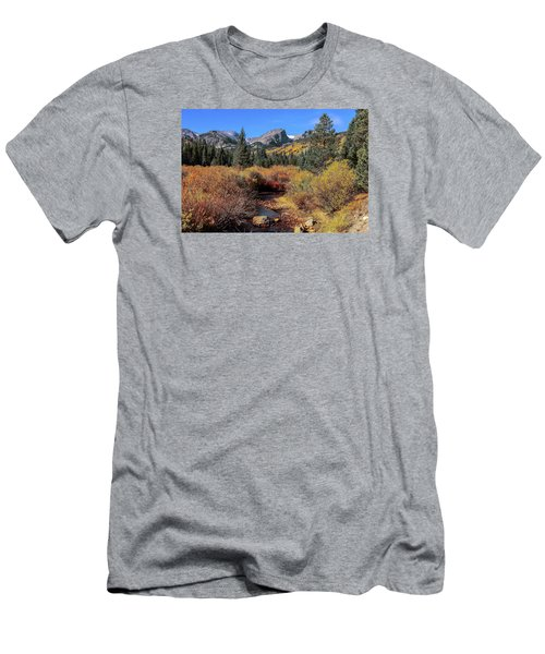 Storm Pass Trail Men's T-Shirt (Slim Fit) by Perspective Imagery