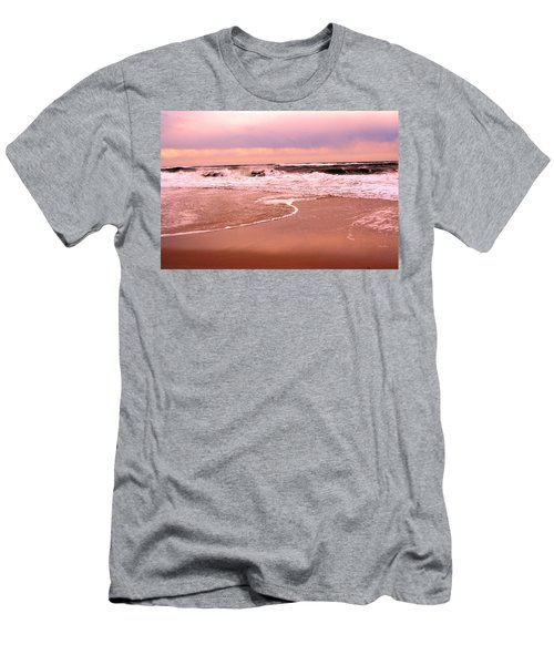 Storm Waves Hitting The Shore Men's T-Shirt (Athletic Fit)