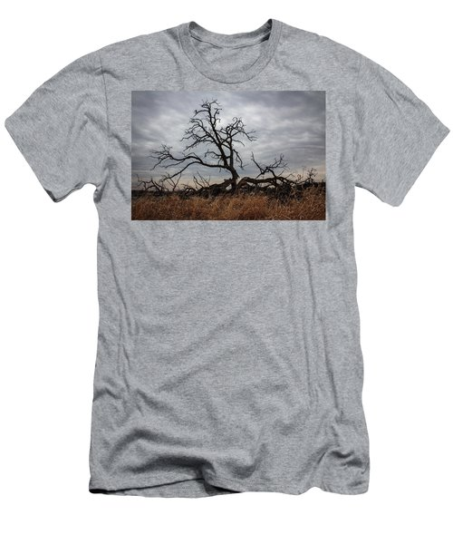 Storms Make Trees Take Deeper Roots  Men's T-Shirt (Athletic Fit)