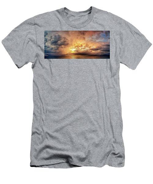 Stormy Ka'anapali Sunset Men's T-Shirt (Athletic Fit)