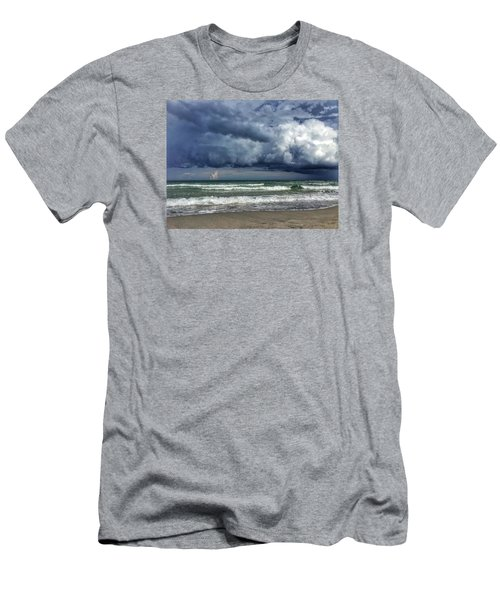 Stormy Ocean Men's T-Shirt (Slim Fit)