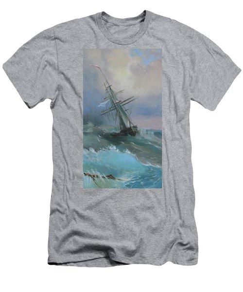 Stormy Sails Men's T-Shirt (Athletic Fit)