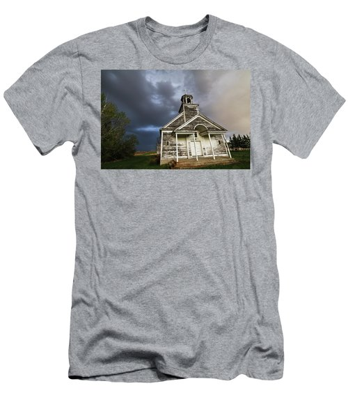 Stormy Sk Church Men's T-Shirt (Athletic Fit)