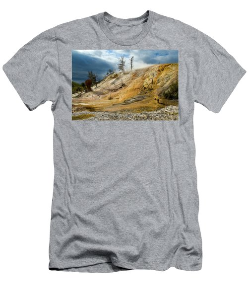Stormy Skies At Mammoth Men's T-Shirt (Athletic Fit)