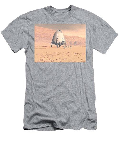 Stormy Skies Men's T-Shirt (Slim Fit) by David Robinson