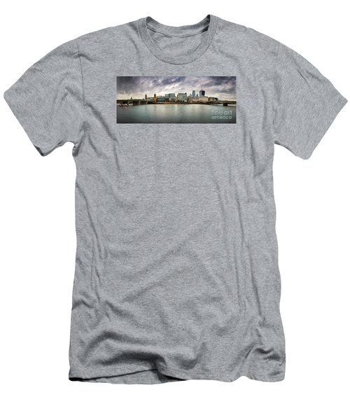 Stormy Skies Over London Men's T-Shirt (Athletic Fit)