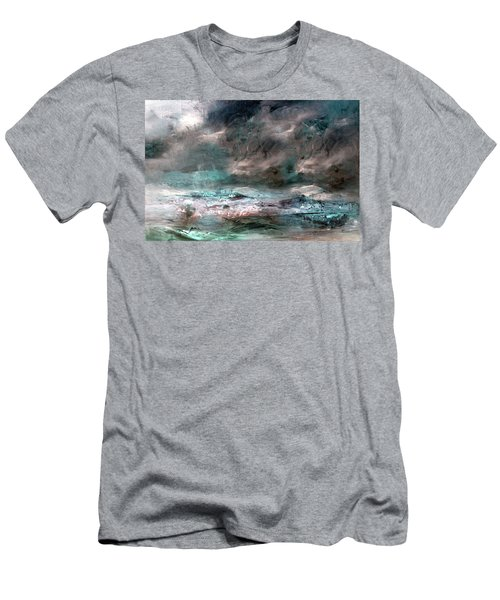 Stormy Sky Men's T-Shirt (Athletic Fit)