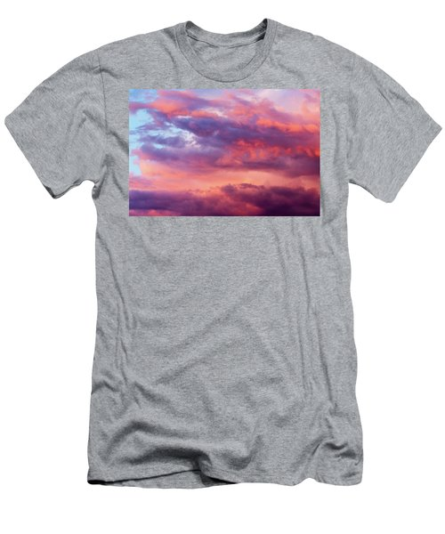 Men's T-Shirt (Athletic Fit) featuring the photograph Stormy Southwest Sunset Horizontal by SR Green