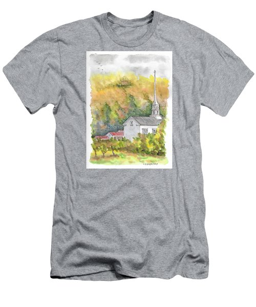 Stowe Community Church, 1839, Stowe, Vermont Men's T-Shirt (Athletic Fit)