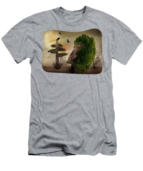 Stranger In The Forest Men's T-Shirt (Athletic Fit)