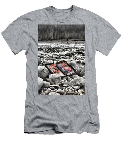 Stream Side Fly Box Men's T-Shirt (Athletic Fit)