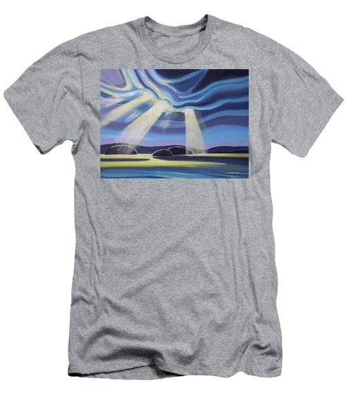 Streaming Light  Men's T-Shirt (Athletic Fit)