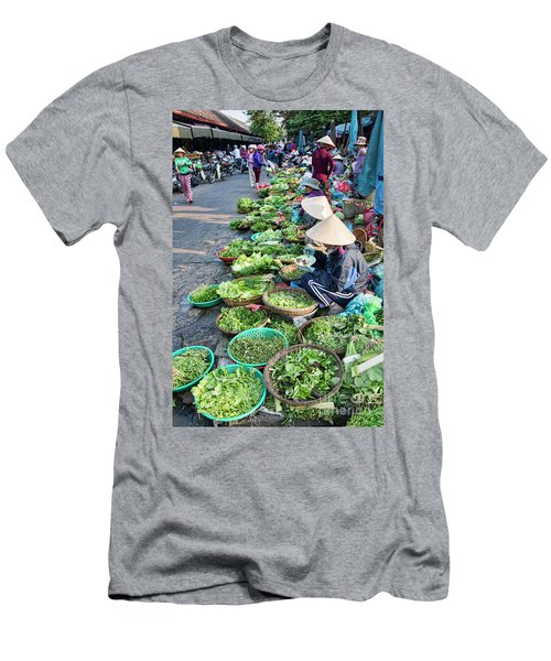 Street Market Hoi An Men's T-Shirt (Athletic Fit)