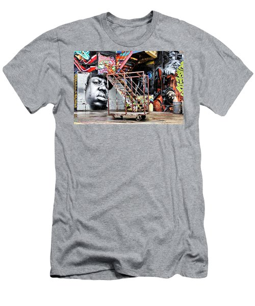 Street Portraiture Men's T-Shirt (Athletic Fit)