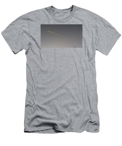 Streetlight Men's T-Shirt (Slim Fit) by Mark Alan Perry