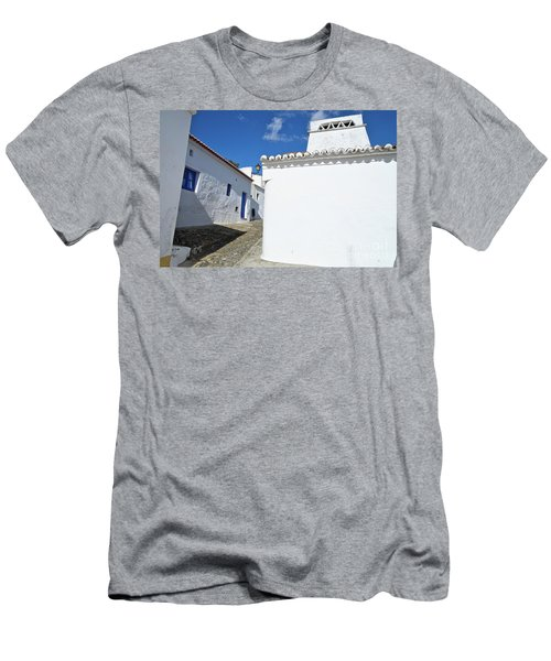 Streets Of A Medieval Castle. Alentejo Men's T-Shirt (Athletic Fit)