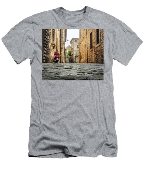 Streets Of Italy Men's T-Shirt (Athletic Fit)