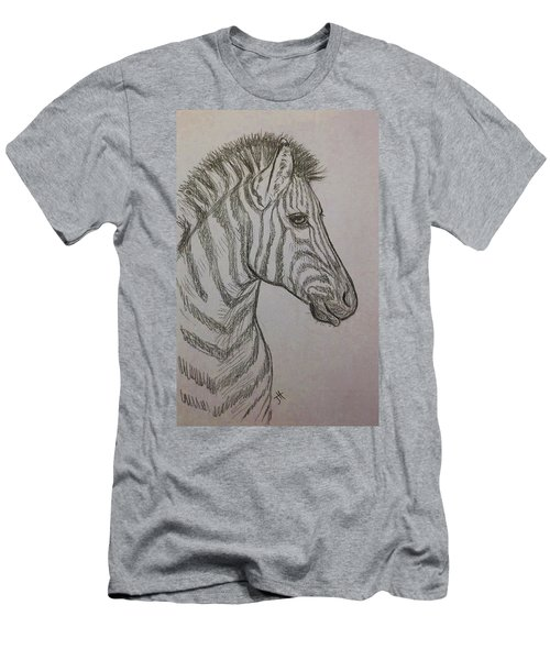 Men's T-Shirt (Athletic Fit) featuring the drawing Striped Stud by Jennifer Hotai