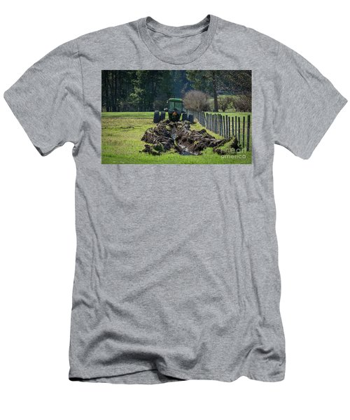 Stuck In The Muck Agriculture Art By Kaylyn Franks Men's T-Shirt (Athletic Fit)
