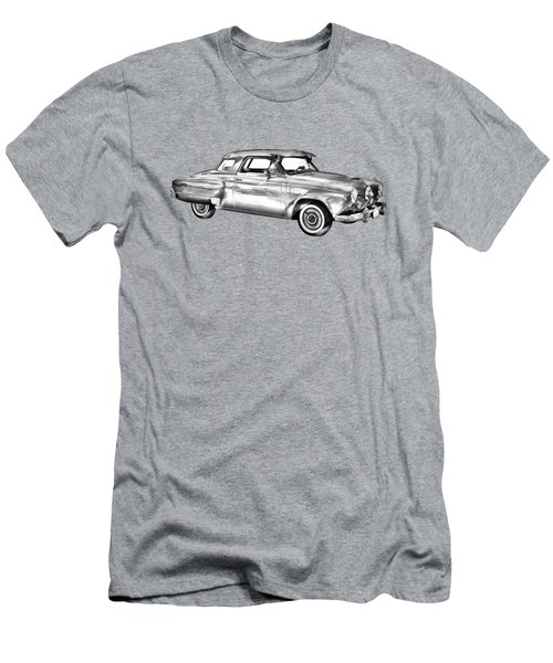 Studebaker Champian Antique Car Illustration Men's T-Shirt (Athletic Fit)