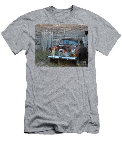 Studebaker Sitting Men's T-Shirt (Slim Fit) by Renie Rutten