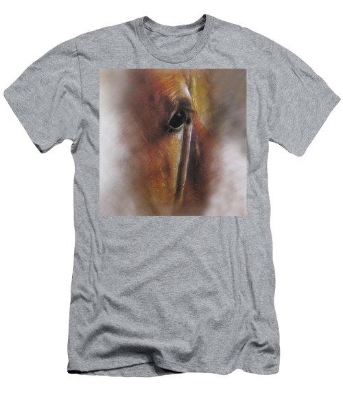 Subtle Horse Men's T-Shirt (Athletic Fit)
