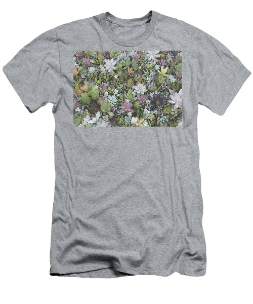 Succulent 8 Men's T-Shirt (Athletic Fit)