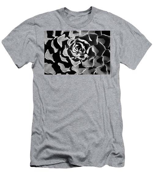 Men's T-Shirt (Slim Fit) featuring the photograph Succulent Extrem  by Catherine Lau