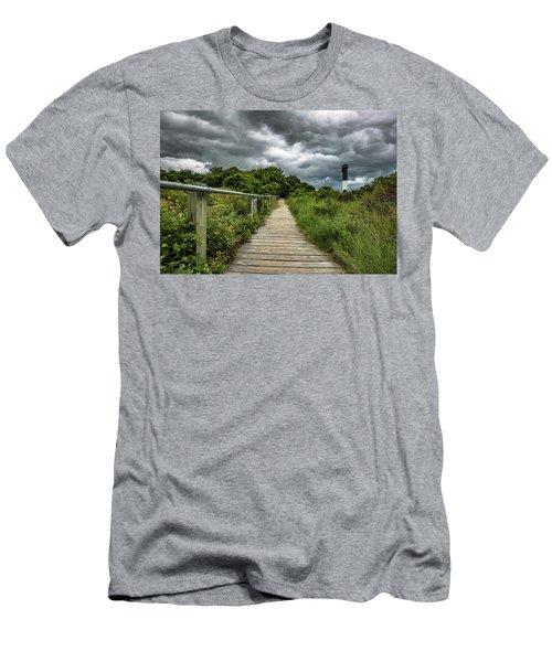 Sullivan's Island Summer Storm Clouds Men's T-Shirt (Athletic Fit)