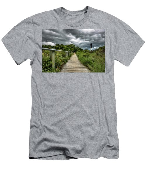 Sullivan's Island Summer Storm Clouds Men's T-Shirt (Athletic Fit)
