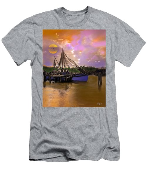 Sultry Bayou Men's T-Shirt (Slim Fit) by J Griff Griffin