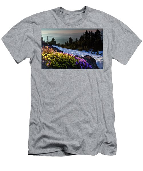 Summer And Winter Men's T-Shirt (Athletic Fit)
