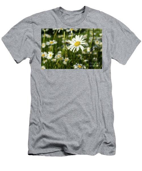 Men's T-Shirt (Athletic Fit) featuring the photograph Summer Beauty by Kennerth and Birgitta Kullman